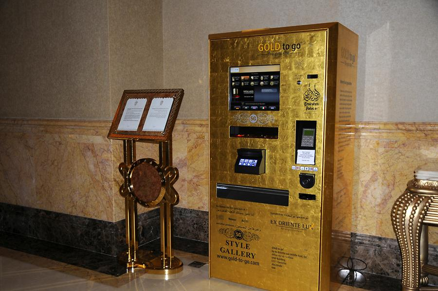 Gold ATM Emirates Palace