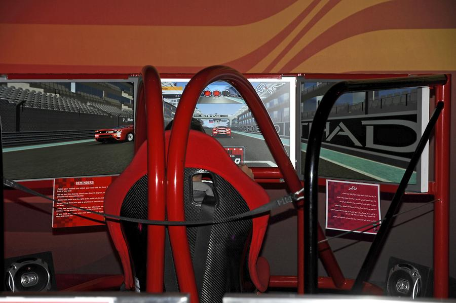 Simulator Ferrari World