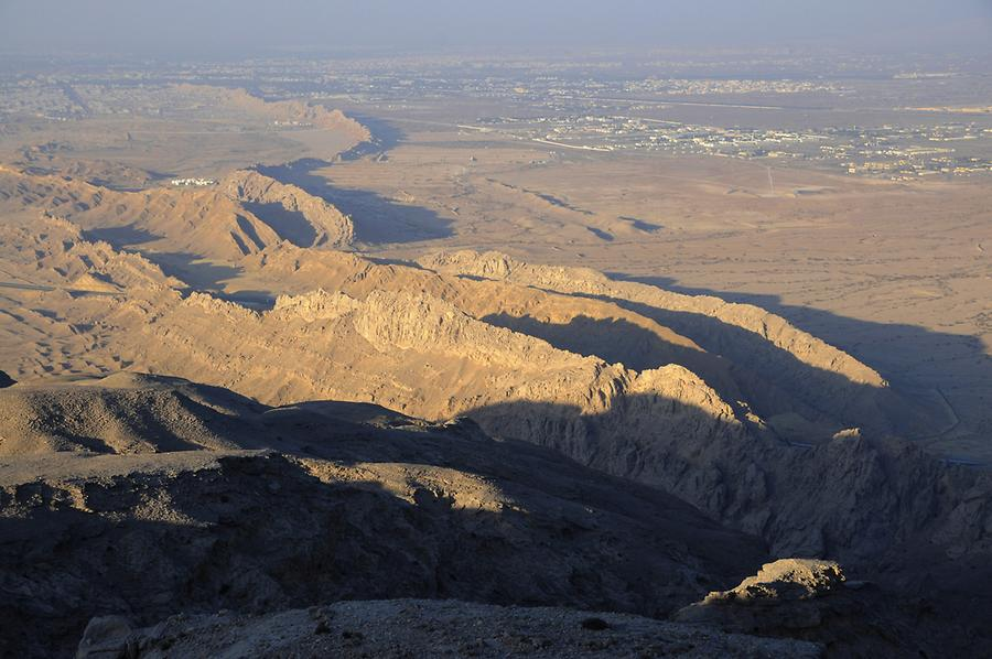View from Jebel Hafeet