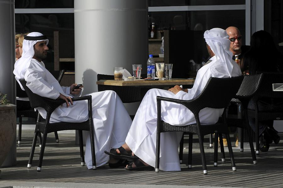 Downtown Dubai, Café