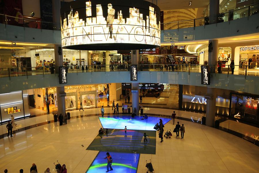 Dubai Mall Inside