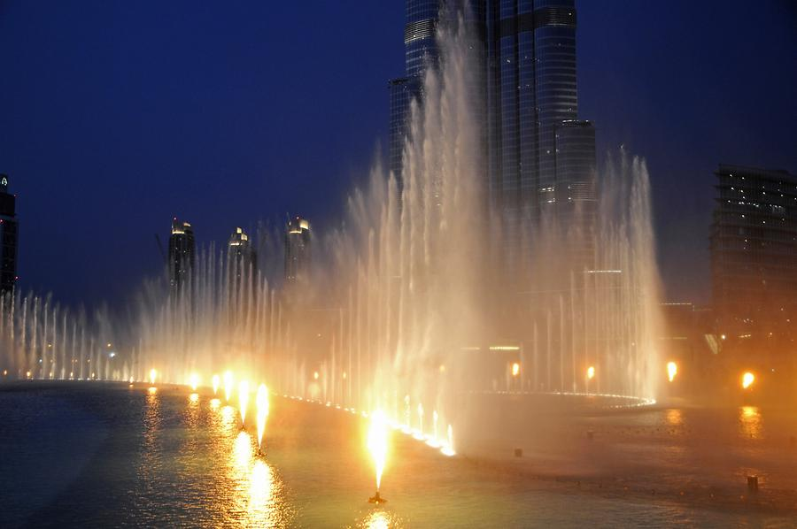 Dubai, Trick Fountains