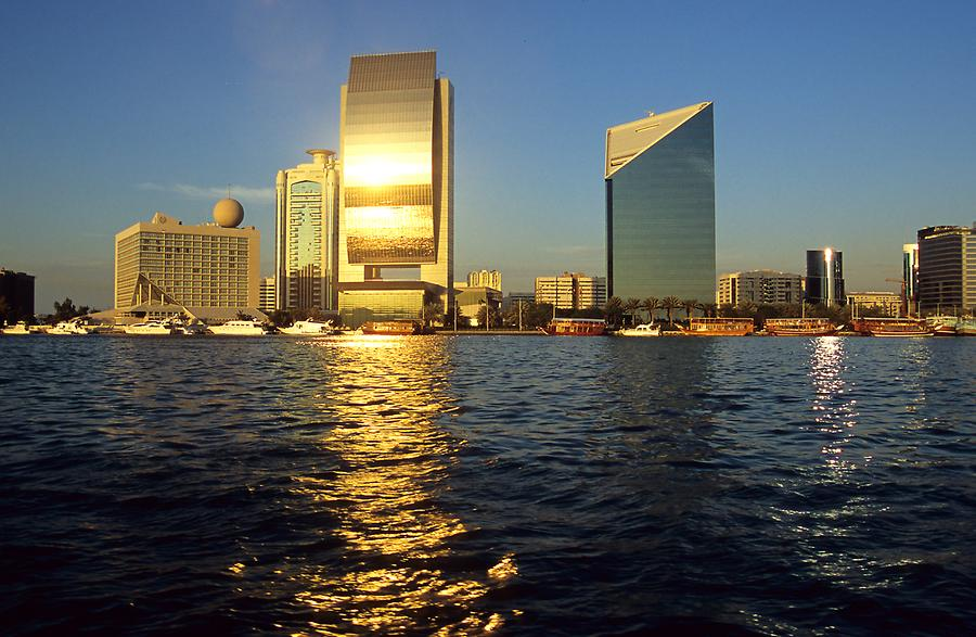 National Bank on the Bank of Dubai Creek