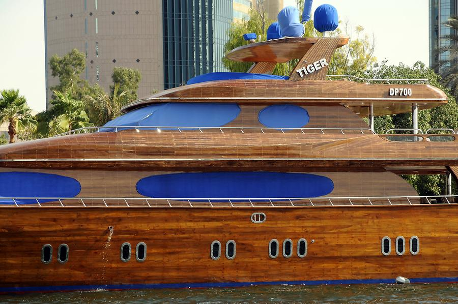 Wooden Yacht
