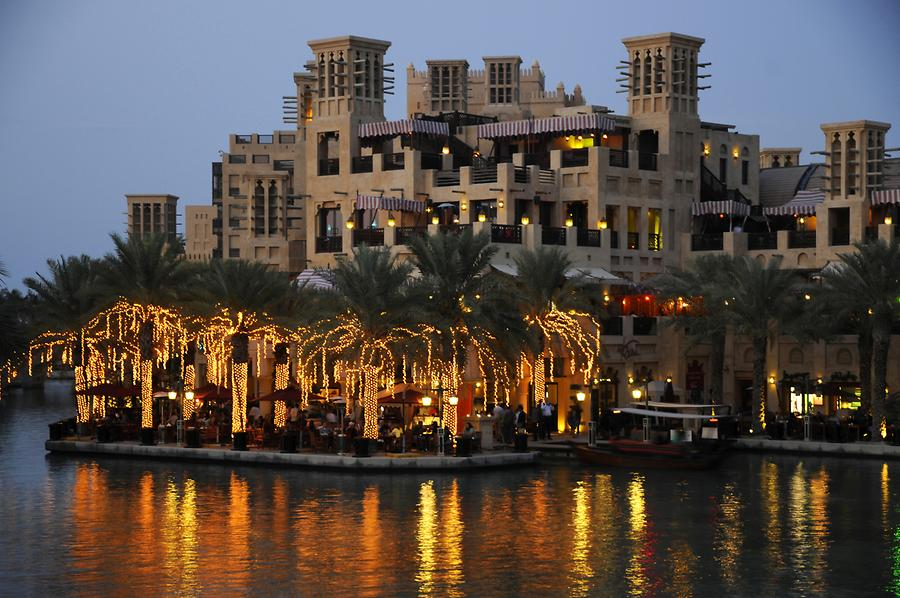 Madinat Jumeirah at Night