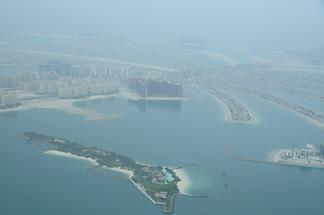 Palm Jumeirah Seen from Above (1)