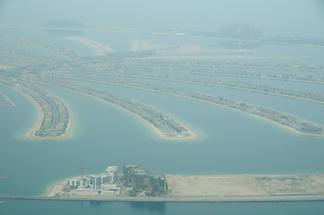 Palm Jumeirah Seen from Above (2)