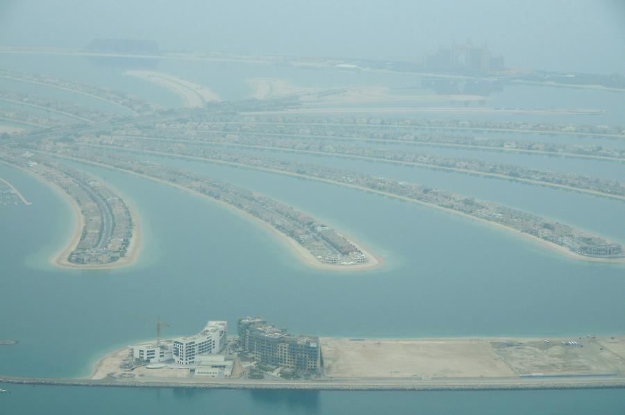 Palm Jumeirah Seen from Above