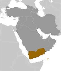 Yemen in Middle East