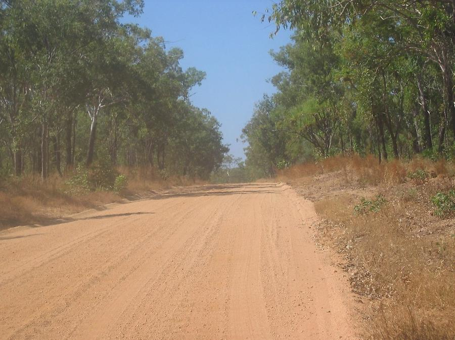 On the way to Burketown