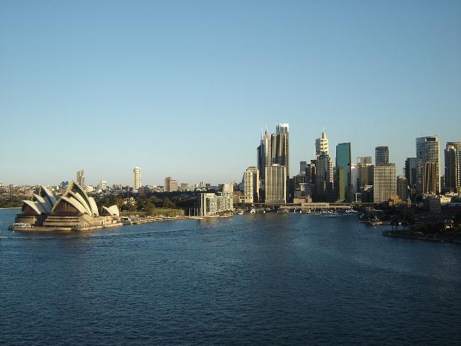 Sydney Harbor and Skyline