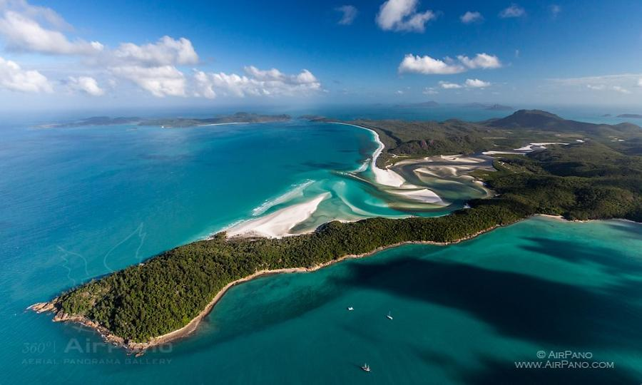 Great Barrier Reef, Whitsunday beach