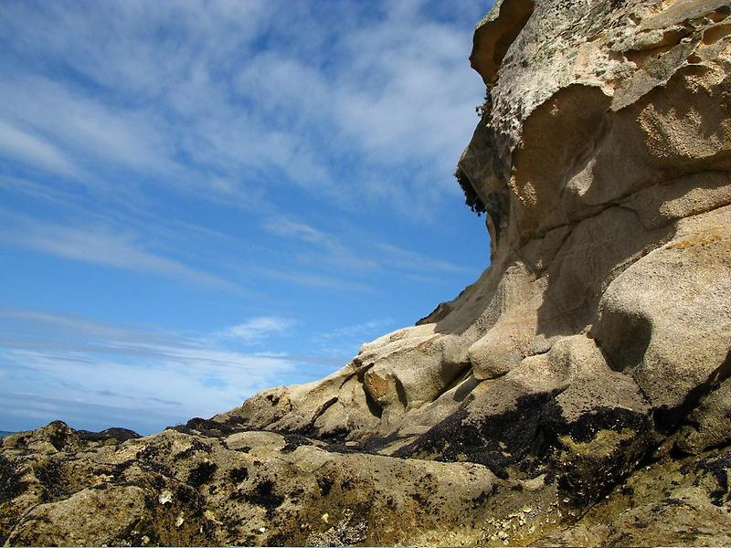 Rock formation near Motueka