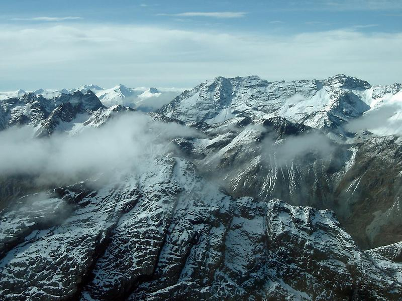 Mountains in Fiordland