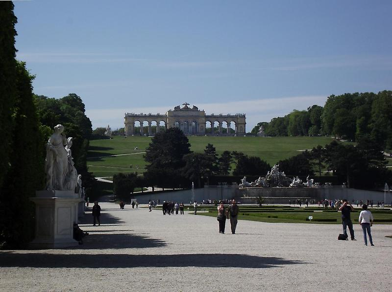 The Gloriette palace, Schoenbrunn
