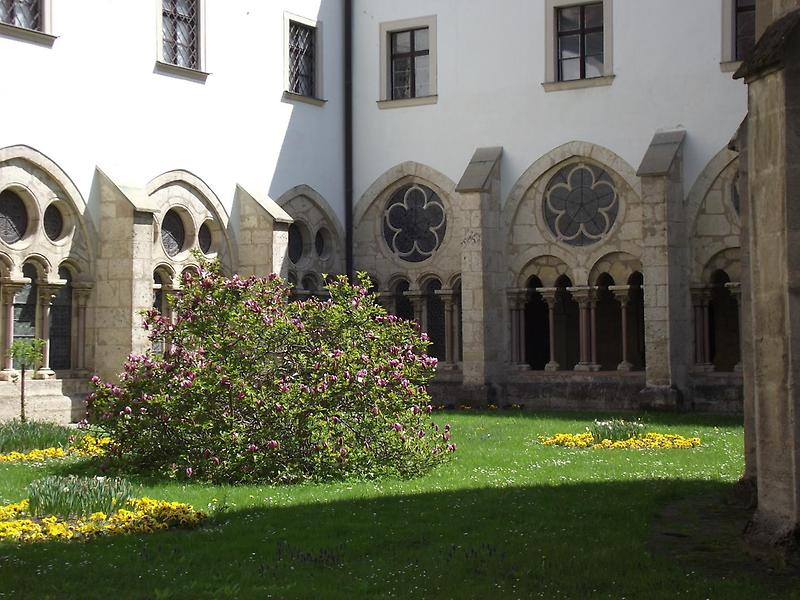 Courtyard in Heiligenkreuz