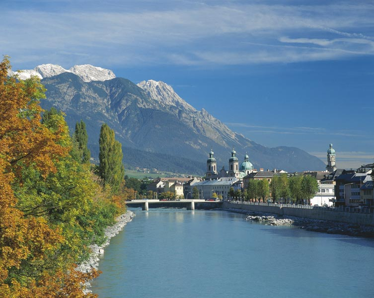 Innsbruck in fall