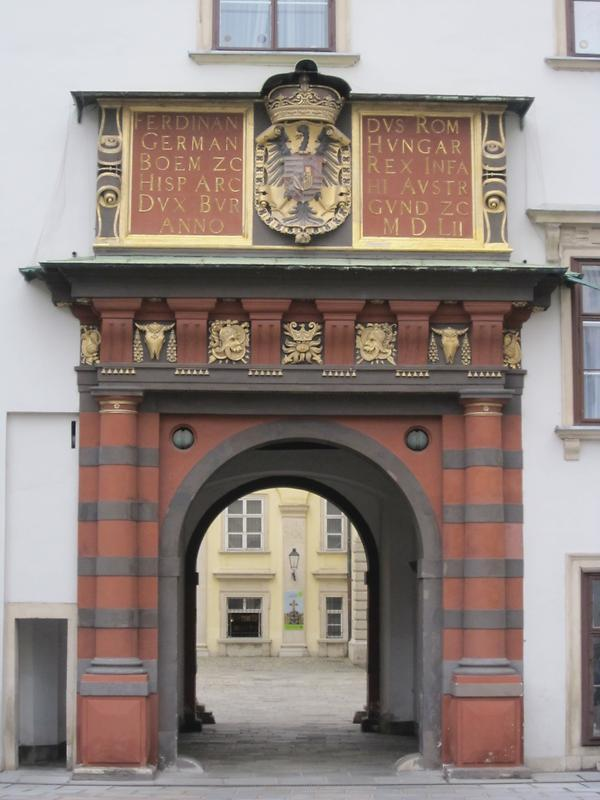 The Schweizertor (Swiss Gate, built 1552) The oldest section of Hofburg, Vienna