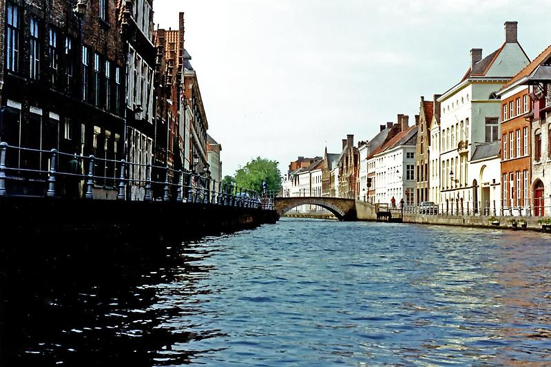 Bridge over Brugge canal