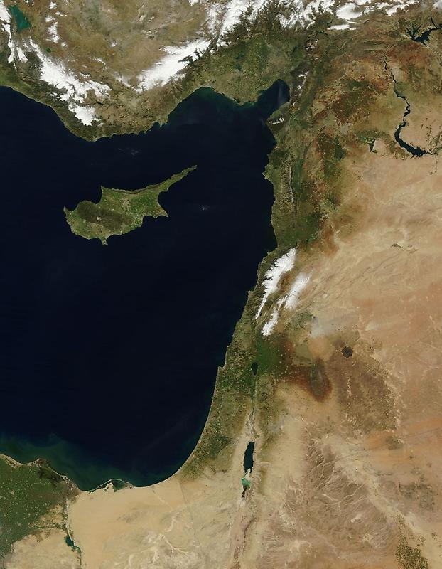 Eastern coast, Mediterranean Sea