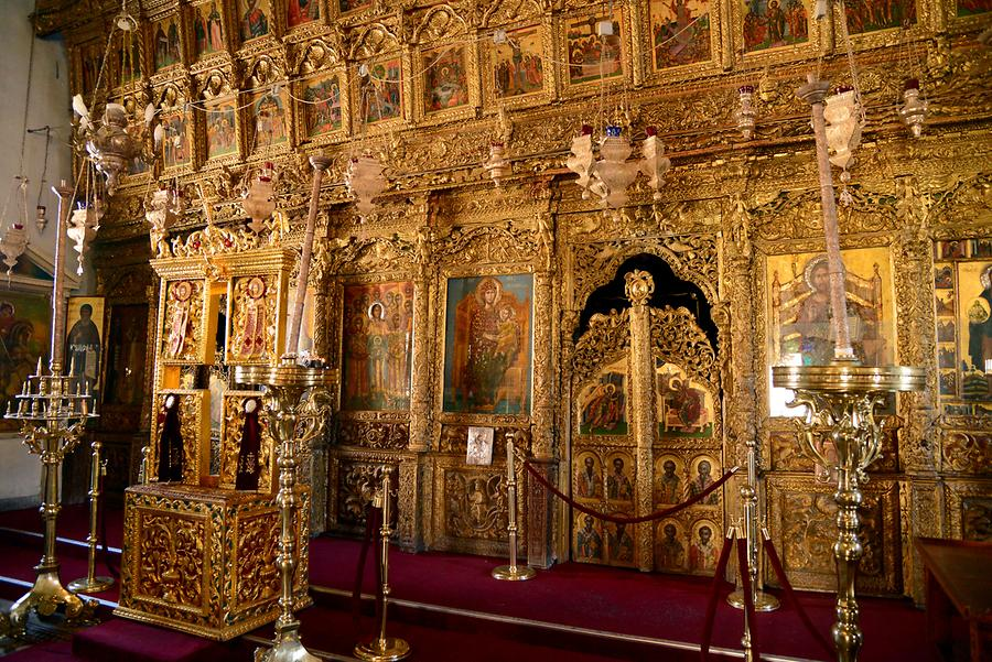 Lefkara - Village Church, Iconostasis