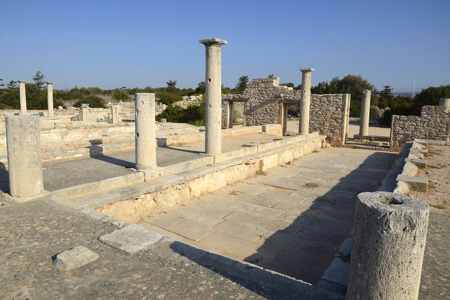 Sanctuary of Apollo Hylates, Habitation for Priests