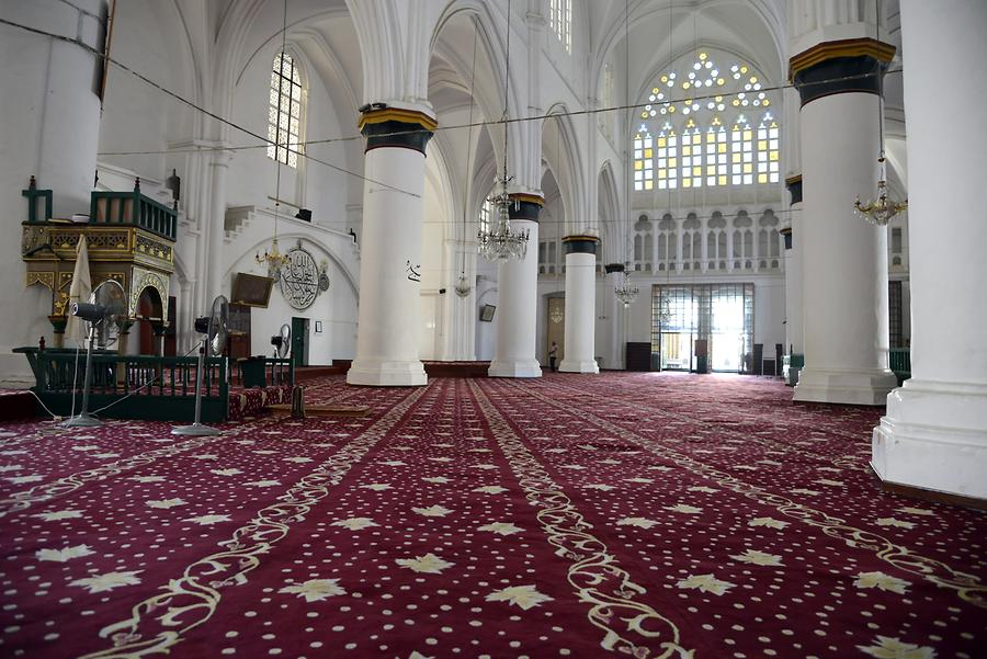 North Nicosia - Selimiye Mosque, Inside