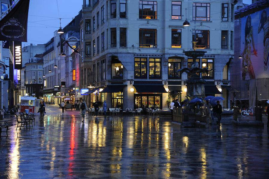 Strøget at Night