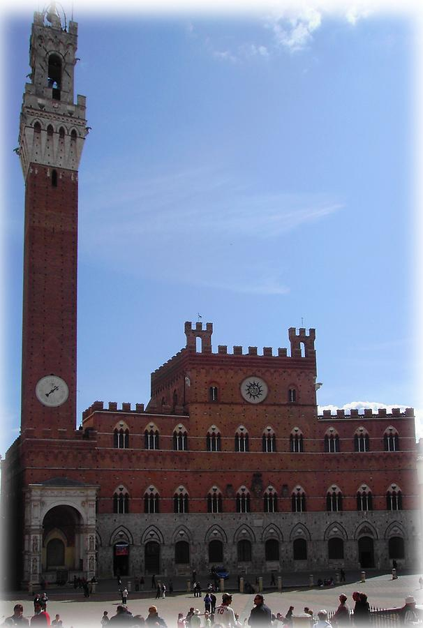 The Town Hall in Siena