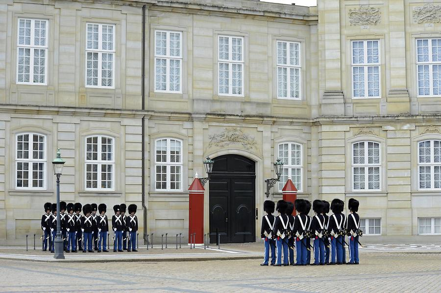 Amalienborg Palace - Changing of the Royal Guard