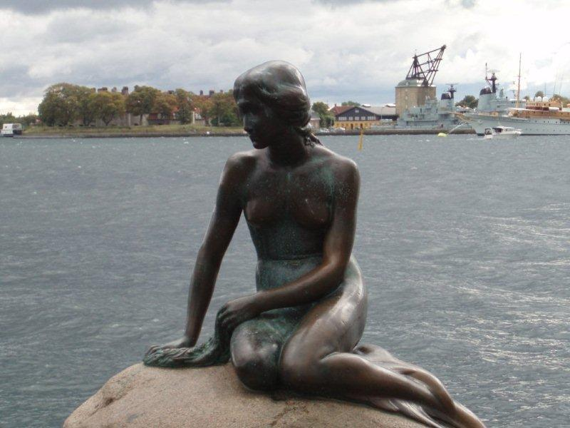 Mermaid statue, Copenhagen