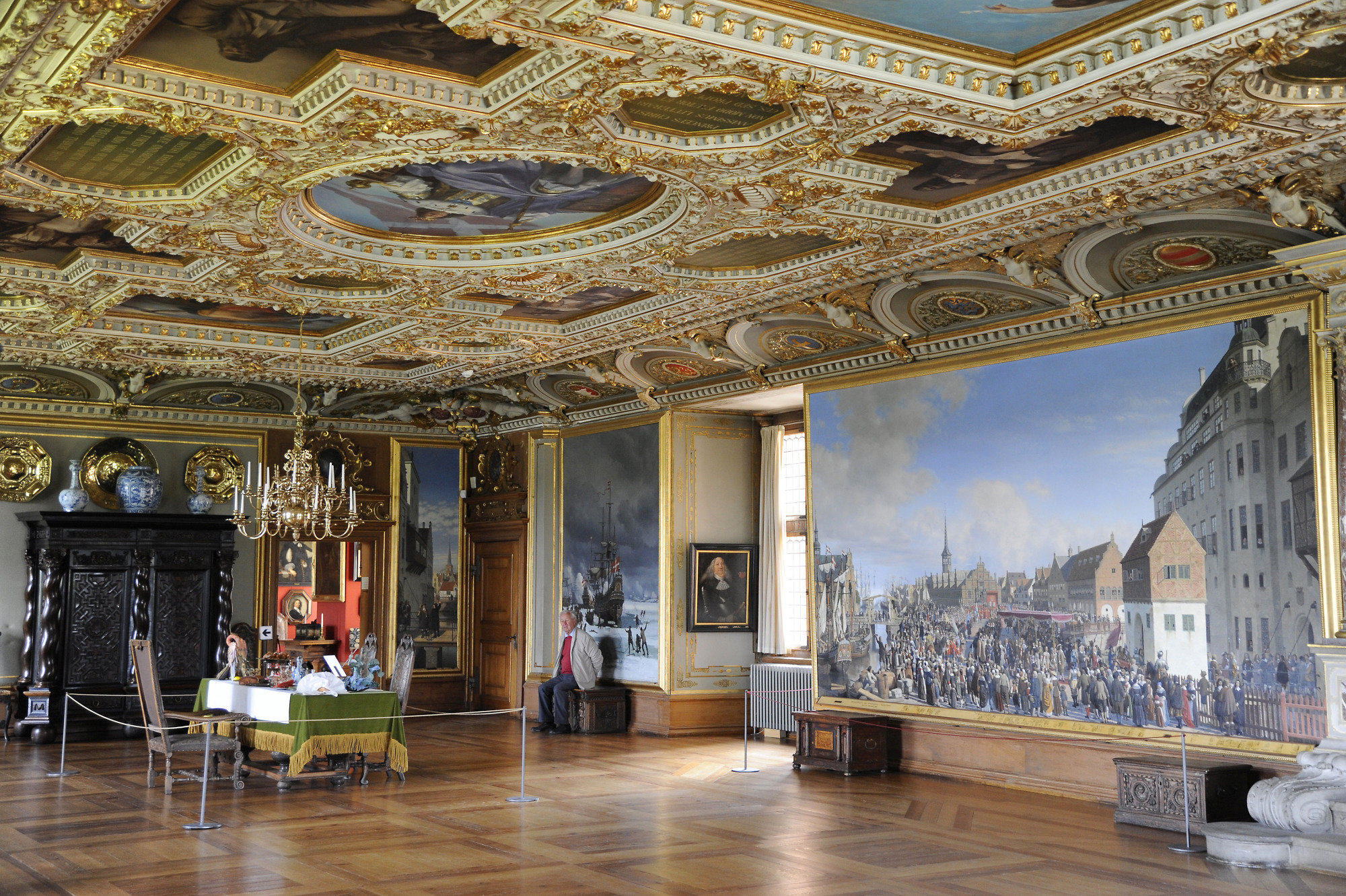 Frederiksborg Castle Inside 5 Surrounding Copenhagen
