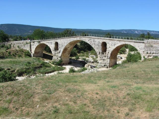 Roman bridge Roussillon