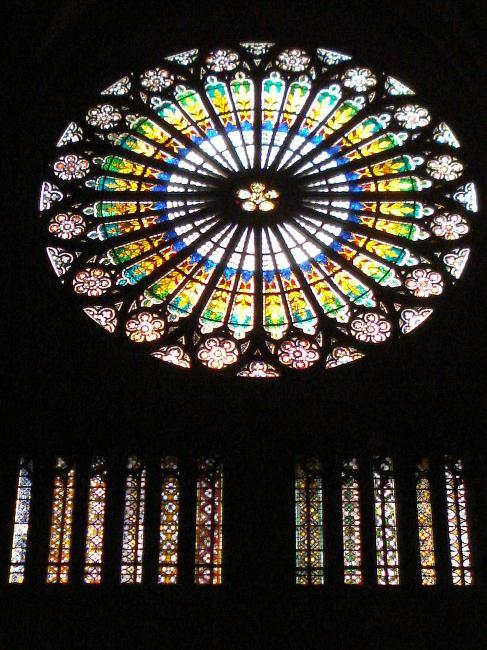 Rose windows, Strasbourg Cathedral