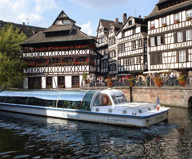River in Strasbourg