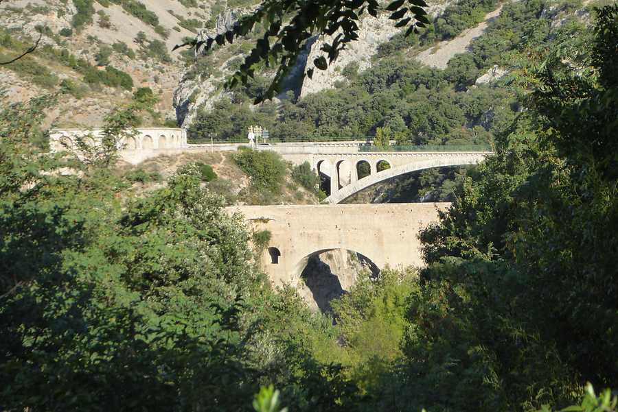 En route to saint Guilhem, Photo: H. Maurer, 2015