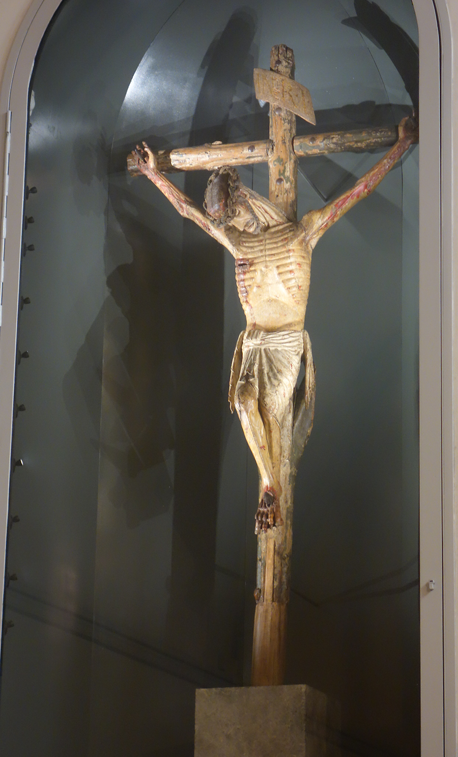 Sculpture of Christ in the Cathedral, Photo: U. Maurer, 2015