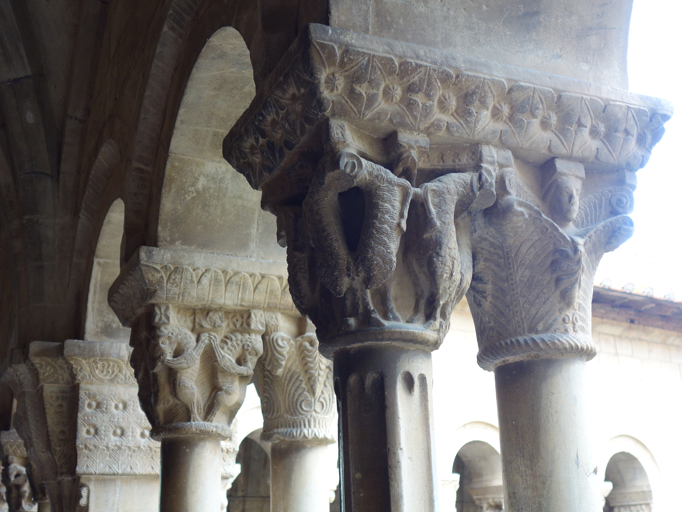 Sculptures in the Cloister, Photo: H. Maurer, 2015