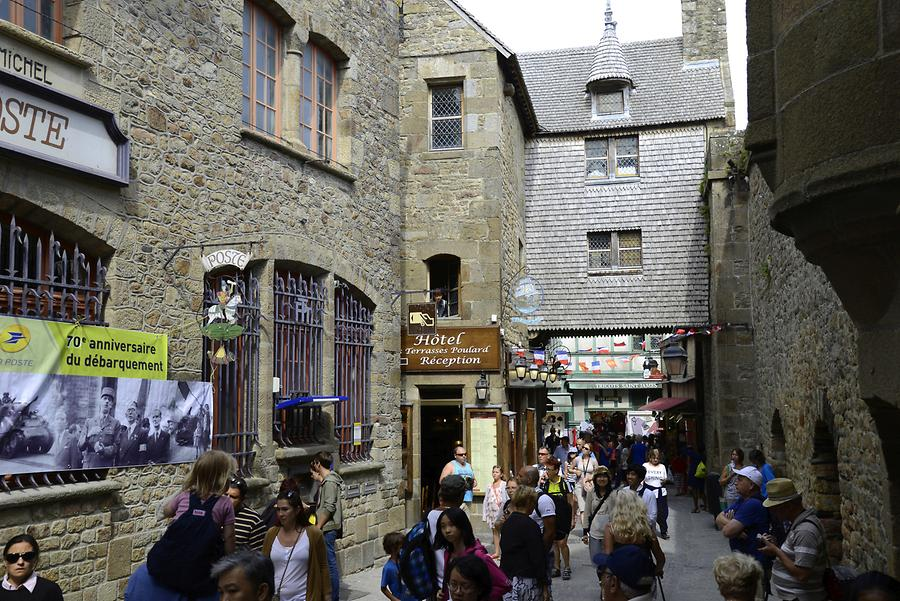Mont St-Michel - Grand Rue