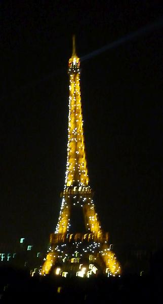 Eiffeltower at night, 2011
