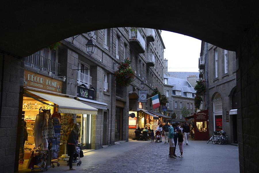 St Malo - Ville Close at Night