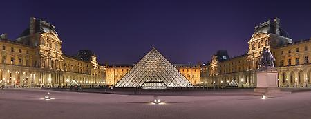 Louvre Museum in France, Foto: source: Wiki commons unter CC