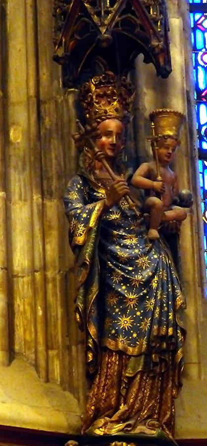 Aachen - Cathedral; Virgin Mary