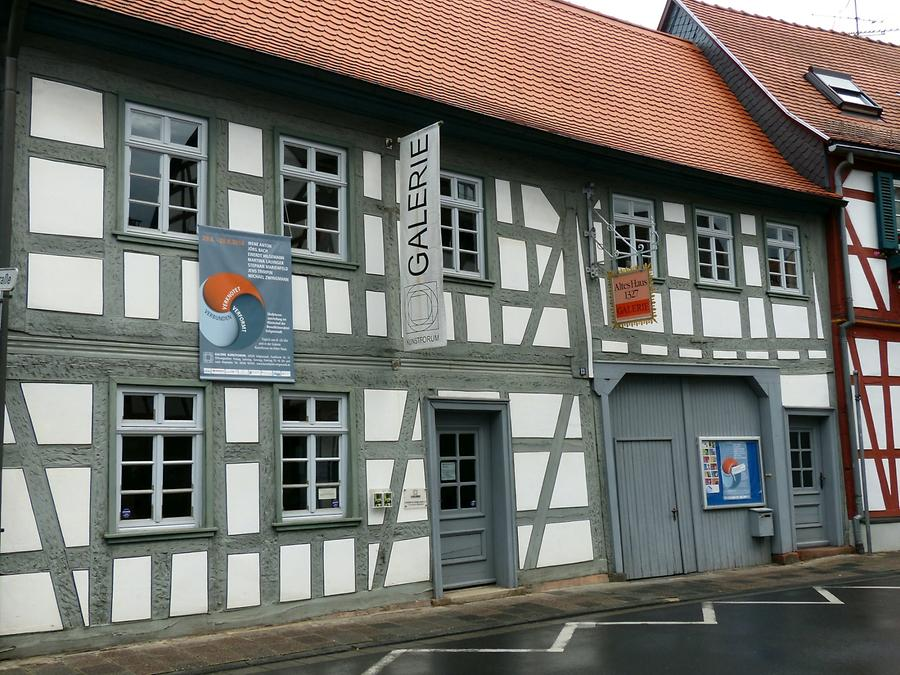 Seligenstadt - Oldest Half-timber House