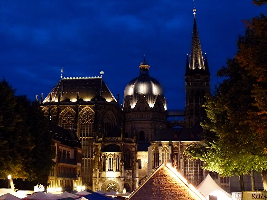 Aachen - Cathedral at Night