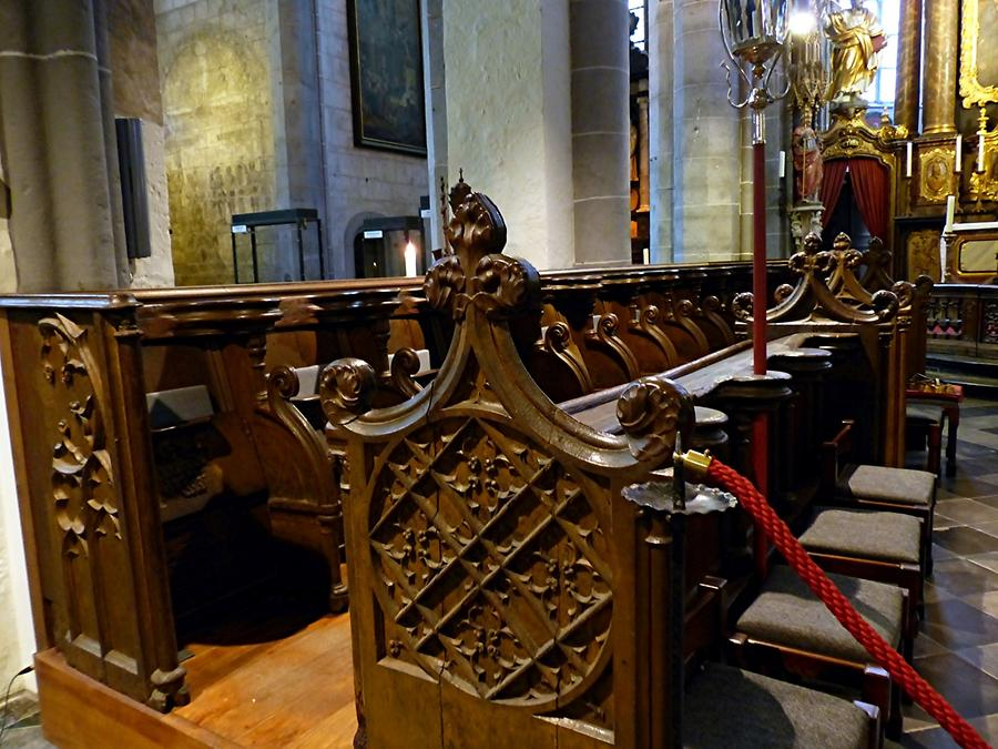 Kornelimünster - Gothic Choir Stalls