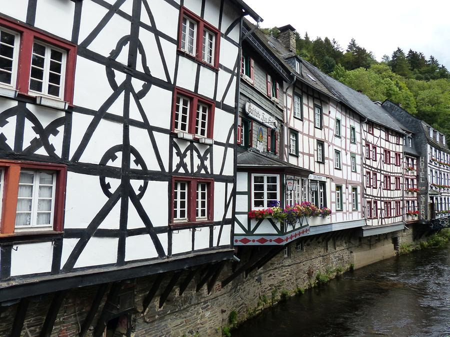 Monschau - Rur and Timber-framed Houses