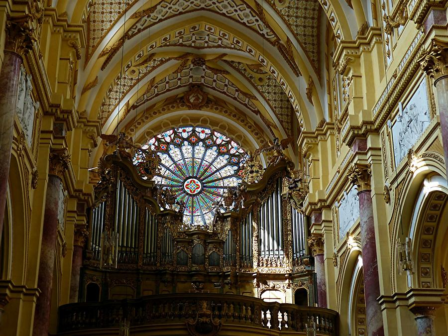 Ebrach - Organ in abbey