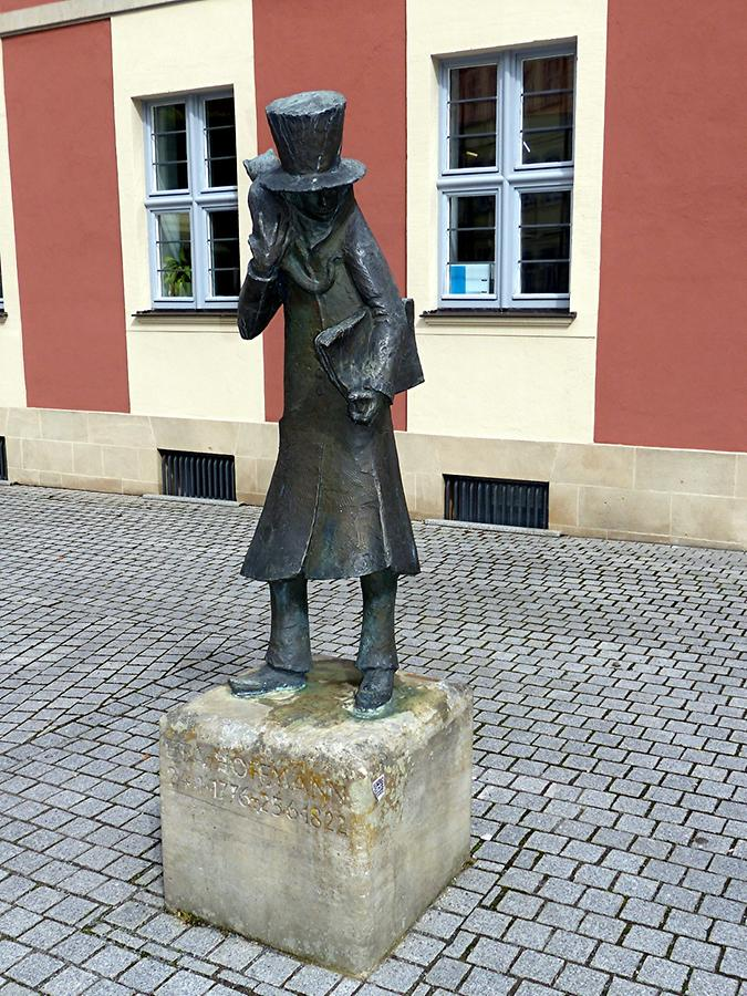 Bamberg - Memorial to E.T.A. Hoffmann