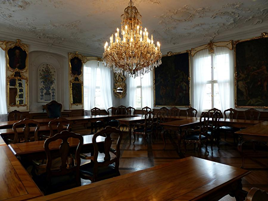 Bamberg - Old City Hall - Hall of Council Members